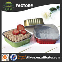 full size plastic pet food container for candle