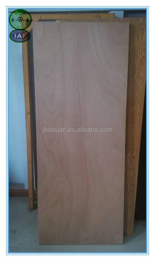 Economische waterdichte vaste kern multiplex vlakke deur for Solid flush door