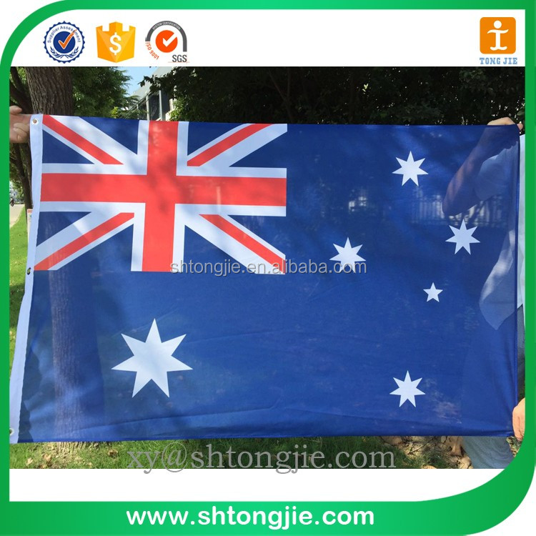Tongjie-320 Polyester adversting Flags and Banners