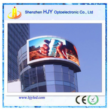 Electronics led screen p8 outdoor road sign led tv panel