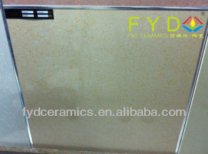 Yellow Color Large Particles Polished Tiles /Ceramic Floor Tile (FK6003)