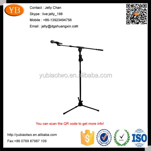 Musical Instrument Custom Microphone Stand Electronic Mic Stand