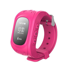 Factory price multi function kids GPS watch GSM card SOS call geo fence Q50 kids smart watch