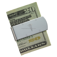 Promotional gift durable money clip, clip wallet
