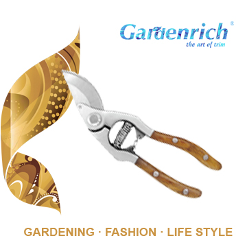 RG1210 Gardenrich best quality professional garden hand striaght pruner flower trimming