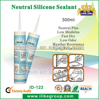 280ml Clear Waterproof Glass Sealant
