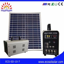 Home Application and Mini home use portable solar generator 10w
