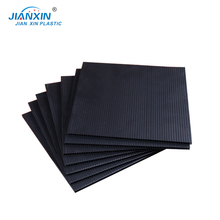 Wholesale Price 10MM Black Corflute Sheet/Floor Protection Correx Plastic