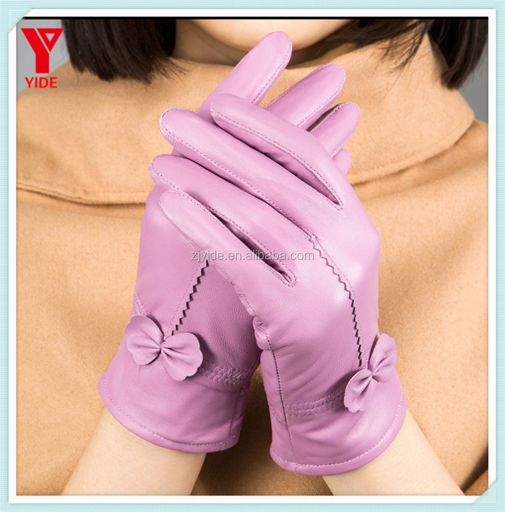Hot Selling High Quality Leather Fashion Gloves Sex BF