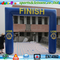 square Cheap Inflatable Finish Line Arch for sale