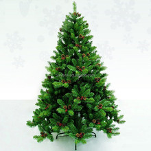 5FT NEW Classic PVC Christmas Tree with Pine Cone