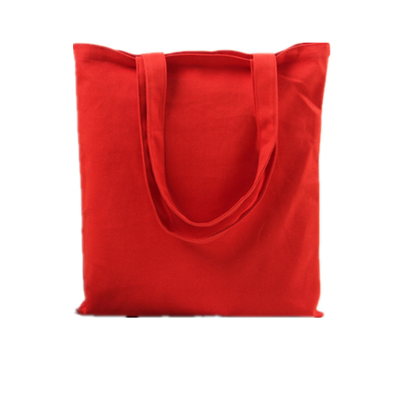 In Stock Colorful blank canvas <strong>tote</strong> bag with pocket in side