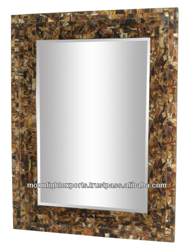 RESIN MOSAIC MIRROR FRAME