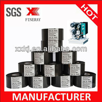 BLACK FINERAY SCF900 and FC3 30mm*122m Date printing foil / Hot foil printing roll for date coding in packaging & printing