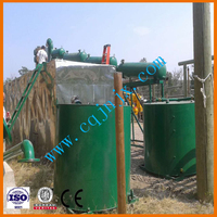 JNC-6 dirty black motor oil recycling systems,catalyst distillation plant to get high quality diesel fuel