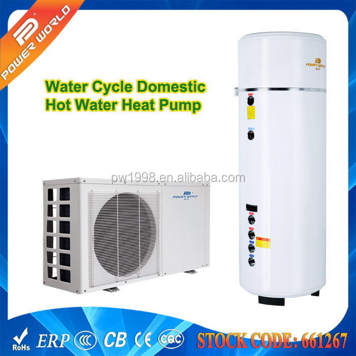 Small Domestic Hot Water Heater Pump 55 Degree Heating