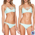 china wholesale custom beach swimwear ladies sexy bikini bra girls fancy hot bra panty sets