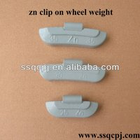 150g zn clip-on motorcycle tire weight/wheel weight