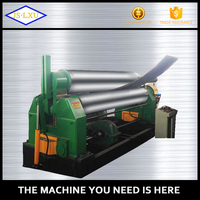 Highly effective steel plate rolling machine