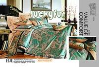 jacquard satin lace comforter blue bedding funny bedding sets
