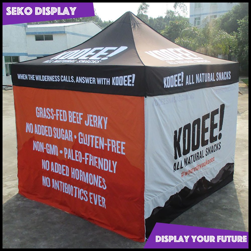 Outdoor gazebo for promotional 3x3 tent