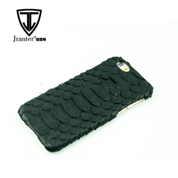 100% Python Leather Mobile Phone Cover, Wholesale for iPhone 5 Custom Back Cover Case