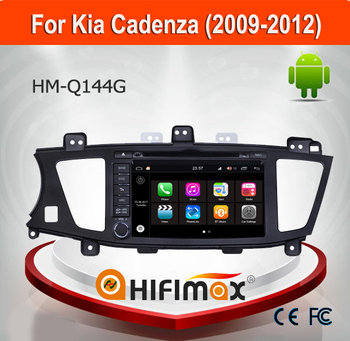 Hifimax Andriod 7.1 Car Radio For KIA K7 Cadenza (2009-2012) Car DVD GPS Navigation System Player With Wifi Bluetooth 2G Ram
