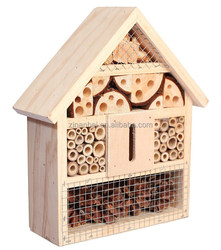 Custom logo wooden insect house, bug house