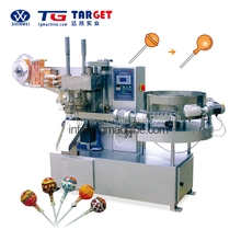 Fully Automatic Easy Control Ball lollipop bunch wrapping machine candy packing machine