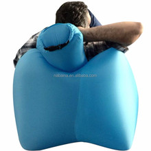 2017 new design inflatable big red chair with pillow for outdoor,travel,camping