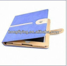 2013 PU Leather/PC Cover/Case for New Book Style PU Leather Case for iPad 2/iPad 3, with Stand Feature