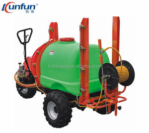 HIGH PRESSURE AGRICULTURAL AIR BLAST TRACTOR MOUNTED BOOM SPRAYER