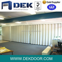 Factory price for soundproof folding doors accordion room divider