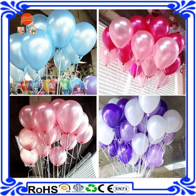 Latex Helium Balloons with Curling Ribbon Ballons Party Wedding Birthday