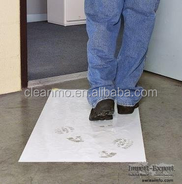 Strong Adhesive Coating Antimicrobial Cleanroom Floor Sticky Mats