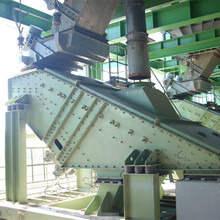 ZSG-1020 Linear vibrating screen used for particle grading