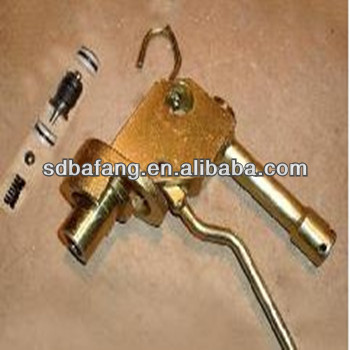 Hydraulic fluid injection gun for Hydraulic prop/supporting and defending accessory