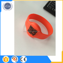 Scannable QR Code Silicon Wristbands with Baller ID