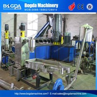 Water-ring Hot Cutting PP/PE Pelletizing Line with Compactor