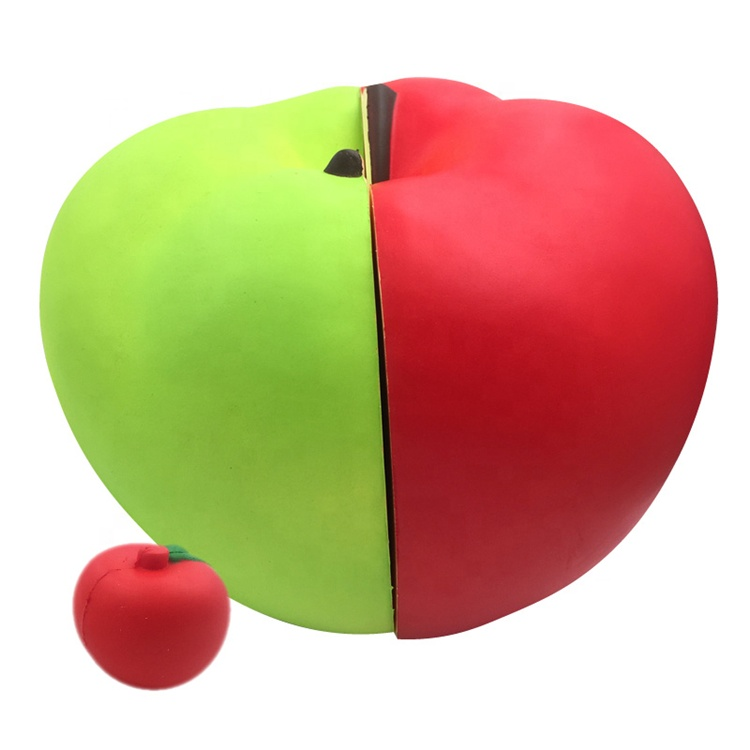 Apple Slow Rising Squishies Fruit For Educational PU Toys