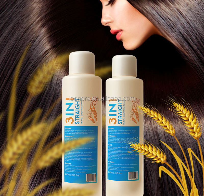 oem/odm private label Cosmetics hair rebonding perm , hair straightening treatment cream