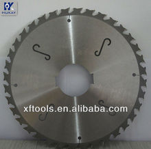 Multi-ripping saw blade for woodworking machine