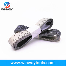 1.5m 2m 3m cloth printed tape measure/body fiberglass tapeline/funny custom tailor measuring tape
