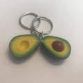 GK114 personalized polymer clay food best friend keychain