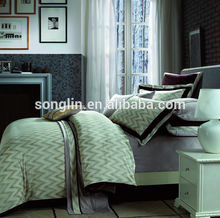 popular fashionable cotton reactive disperse printing bed cover set
