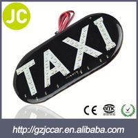Excellent taxi roof display led taxi sign neon taxi sign