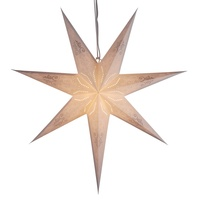 Sunbeauty Folding Christmas Decoration Lights Hanging Paper LED Star