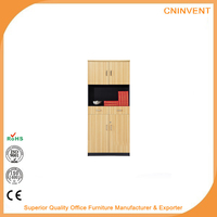 Multifunctional Mini Office Wood Display Cabinet/Tool Cabinet