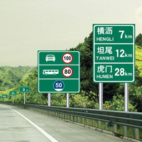 royal High-end atmosphere red triangle road traffic signs and symbols