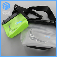 High quality pvc waterproof bag for outdoors using/Stand up pvc waterproof bag with handle/pvc waterproof bag for documents